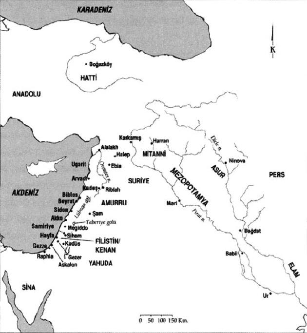 ön asya haritası